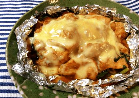 柔らか濃厚絶品チゲチーズチキン(糖質3,6g)