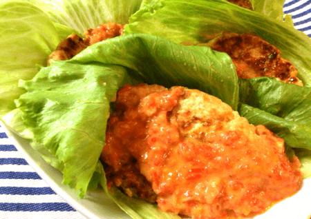トマトジンジャーチーズの肉汁チキン菜摘(糖質7.3g)