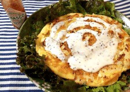 ランチドレッシングと濃厚チーズ鶏ピカタ(糖質7.6g)