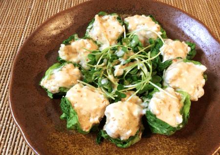 スイチリマヨポンのささみ海老チーズ焼売(糖質4.3g)
