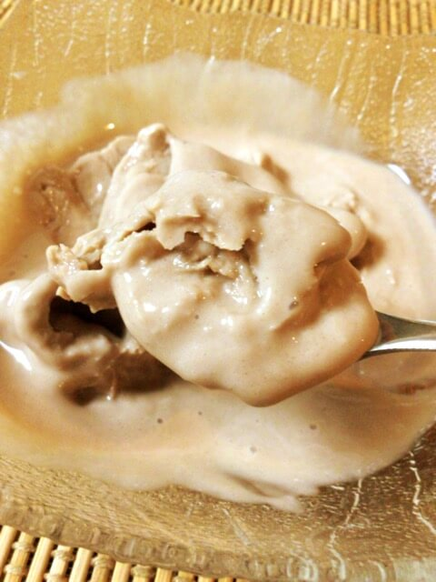 無調整豆乳+プロテイン