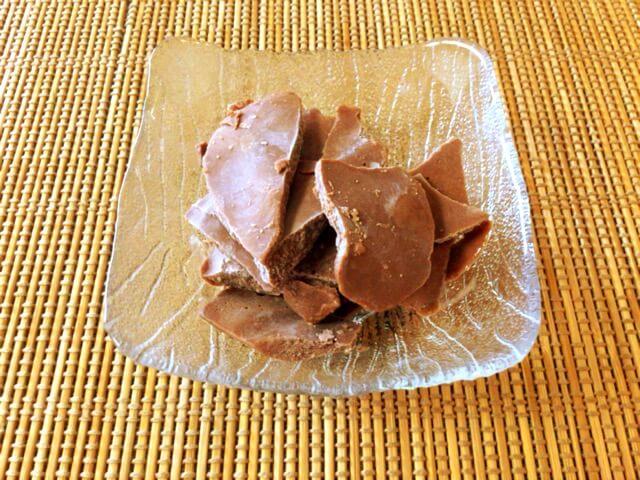 糖質3.5gの濃厚プロテインアイスチップスの作り方
