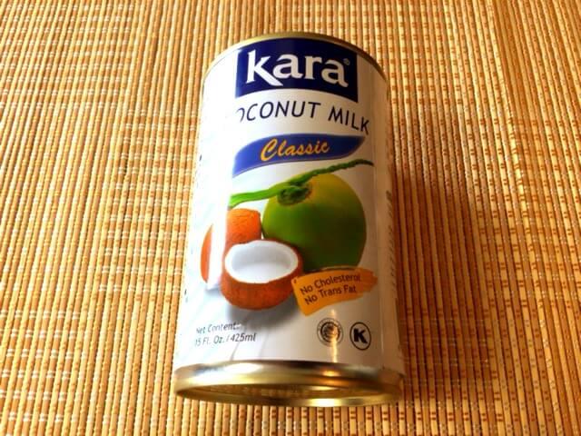 材料① ココナッツミルク(100mlから)