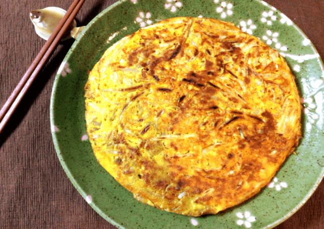 カレーモヤシのツナ満月お好み焼き(糖質6.2g)