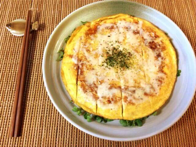 絶品ツナチーズの迅速マヨポンチヂミ(糖質6.8g)
