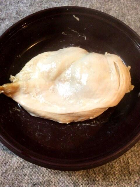 蒸し型サラダチキンの作り方