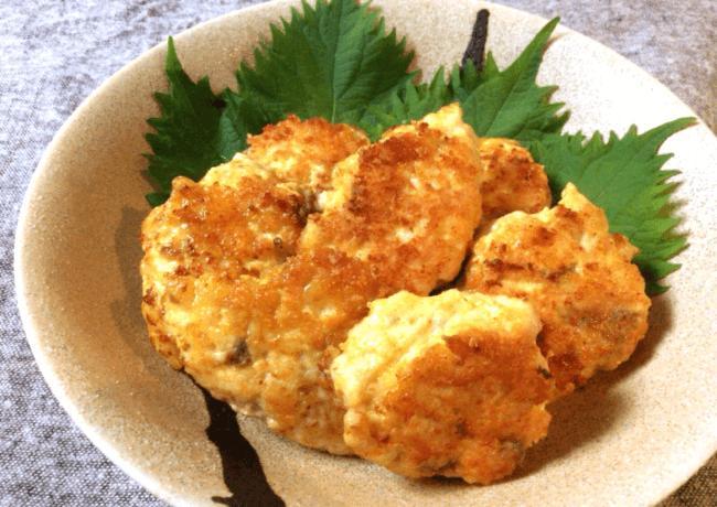アンチョビチーズのメレンゲメンチ(糖質4.2g)
