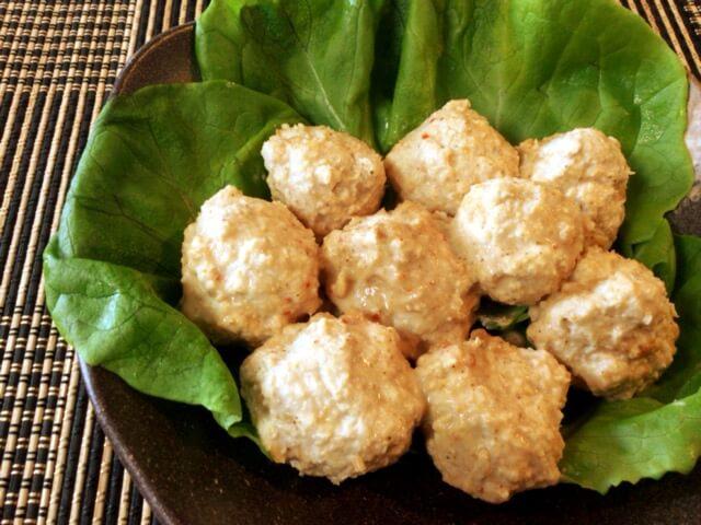 絶品スイチリ胡麻味噌エノキ鶏団子(糖質7.0g)