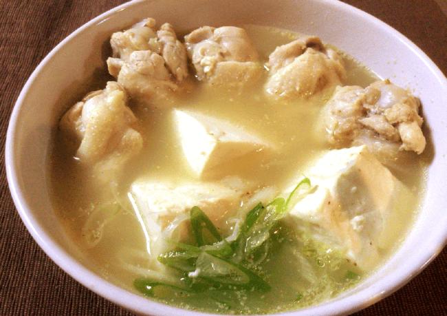 旨み透き通る濃厚豆腐参鶏湯(糖質7.5g)