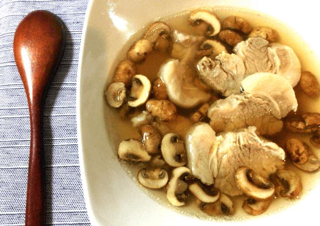 絶品生姜柔豚のクミンコンソメスープ(糖質6.8g)