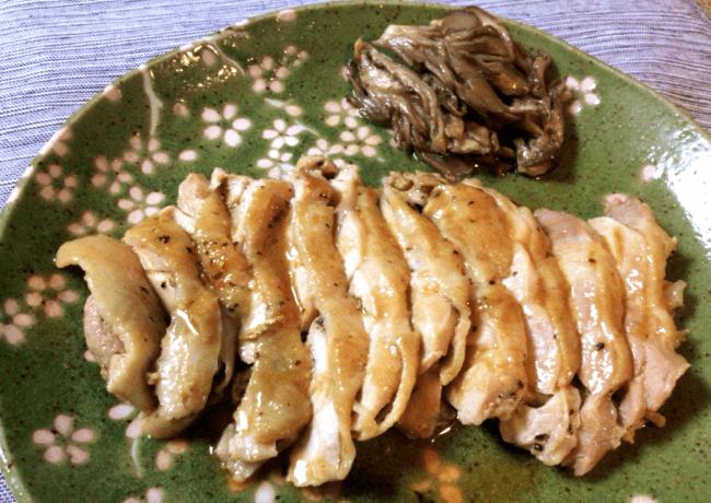絶品バルサミコ風バジル鶏タリアータ(糖質3.5g)