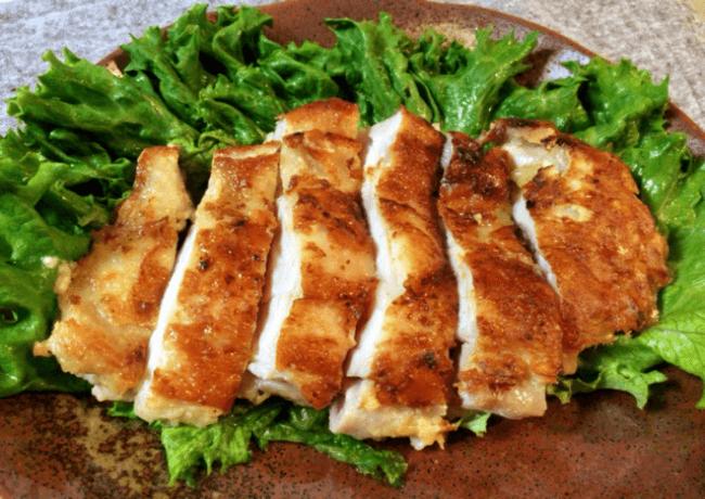 肉汁溢れる白だし柚子胡椒のチーズチキン(糖質5.1g)