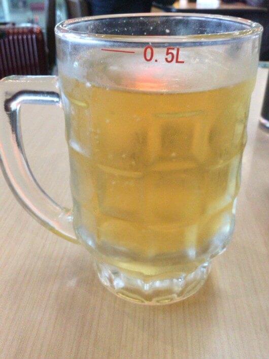 一杯の啤酒