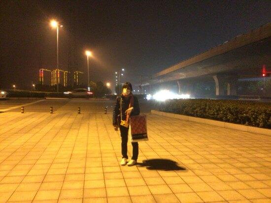 鄭州東の散策とホテルまでの道のり