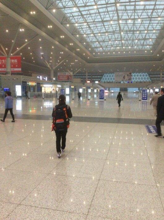 早朝の鄭州東