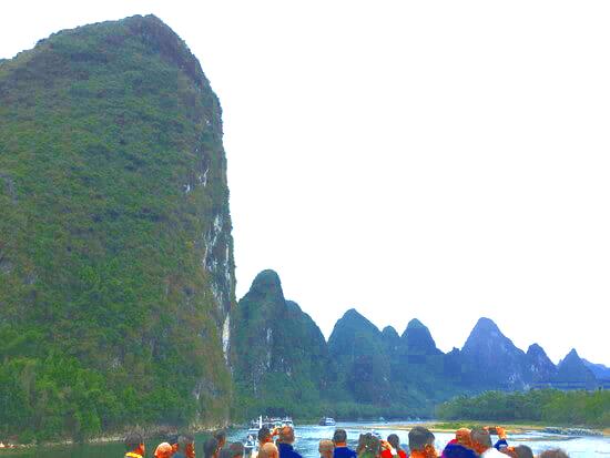 桂林川沿いの絶景