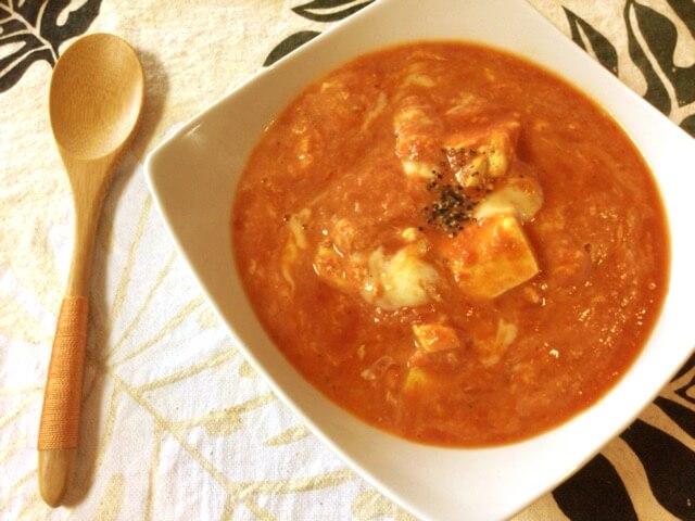 音速コンソメだしカレーのトマトチーズ豆腐(糖質5.8g)