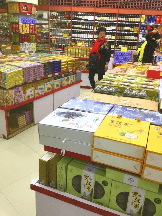 陽朔のスーパーマーケット