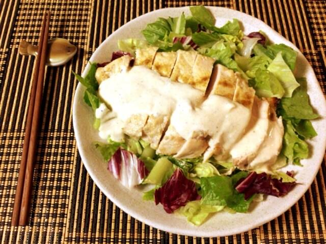 ヨーグル大蒜クミンの芳醇鶏胸ステーキ(糖質4.5g)