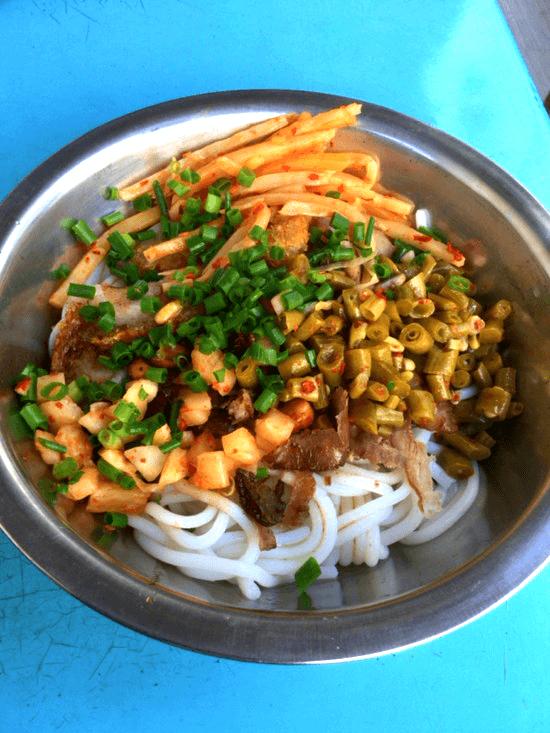 桂林の絶品米麺