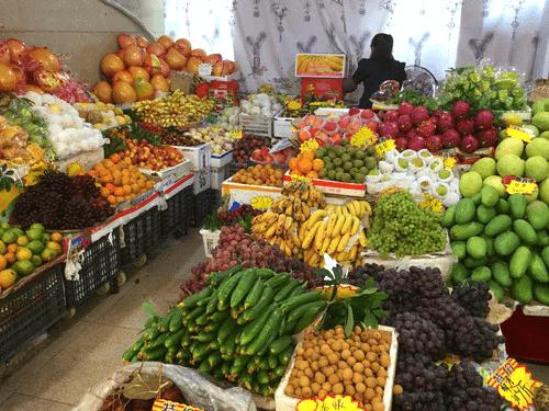 桂林駅のナイスな果物屋
