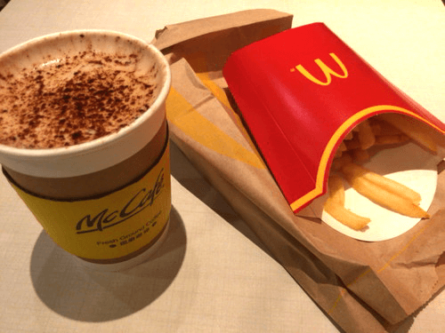 中国のマクドナルド