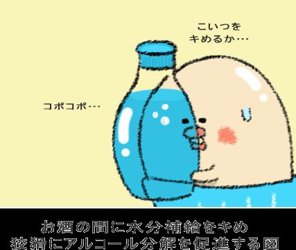 水を飲んでダブルで胃腸を責める方法