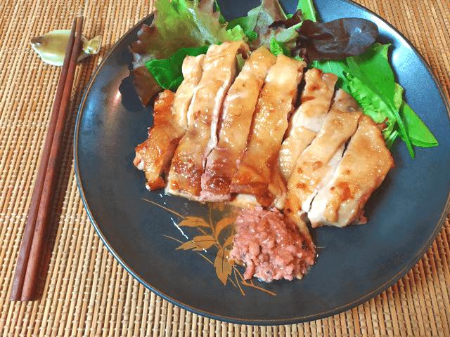 塩辛バター醤油の絶品おろしオーブンチキン(糖質4.1g)