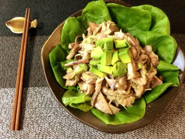 イカアボカドの絶品茗荷クミンマスタード(糖質5.4g)