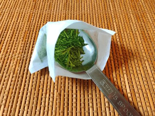 水出し緑茶の淹れ方