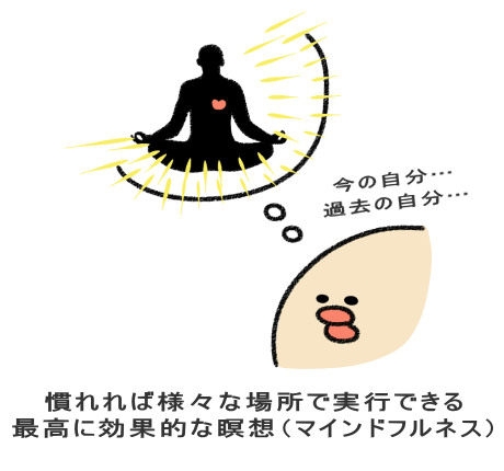慣れれば様々な場所で実行できる 最高に効果的な瞑想(マインドフルネス)