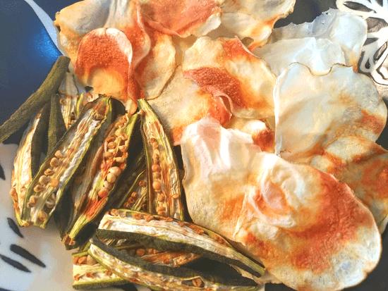 ノンオイル野菜チップス