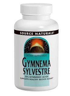Source Naturals, ギムネマ シルベスタ, 450 mg, 120 粒