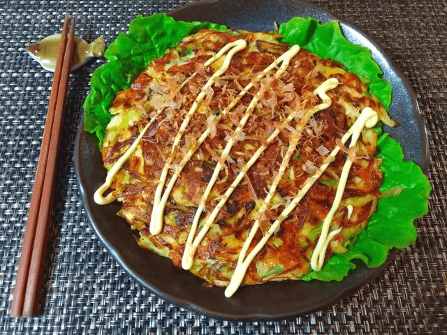 コク出汁納豆チーズの絶品丸ごと葱お焼き(糖質8.3g)
