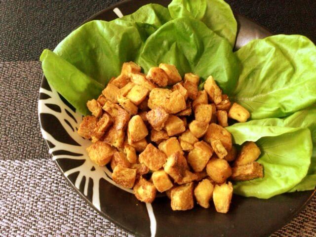 ガーリッククミンのサクサク豆腐クリスピー(糖質2.6g)