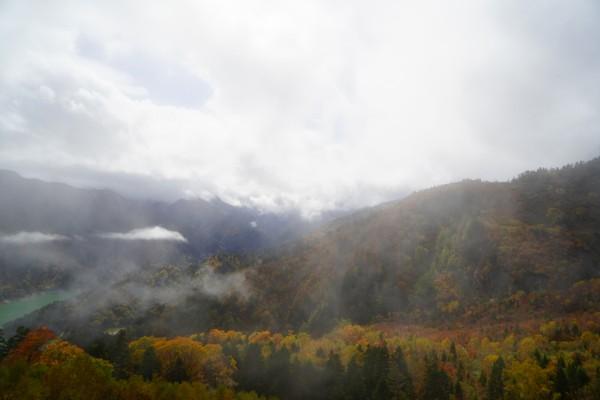 立山黒部アルペンルート|黒部平と黒部湖