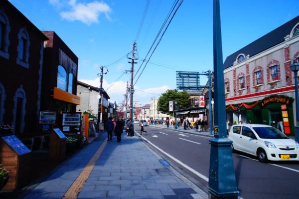 小樽|小樽堺町通り商店街