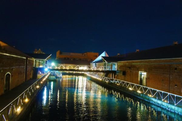 函館|金森赤レンガ倉庫の夜景