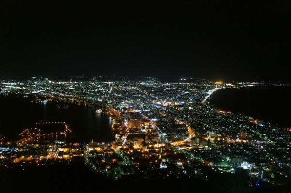 函館|函館山からの夜景