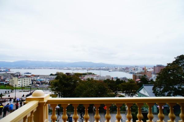 函館|旧函館区公会堂からの眺め