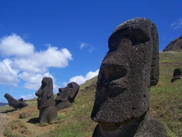 ポリネシア最東端の国、チリ領に...