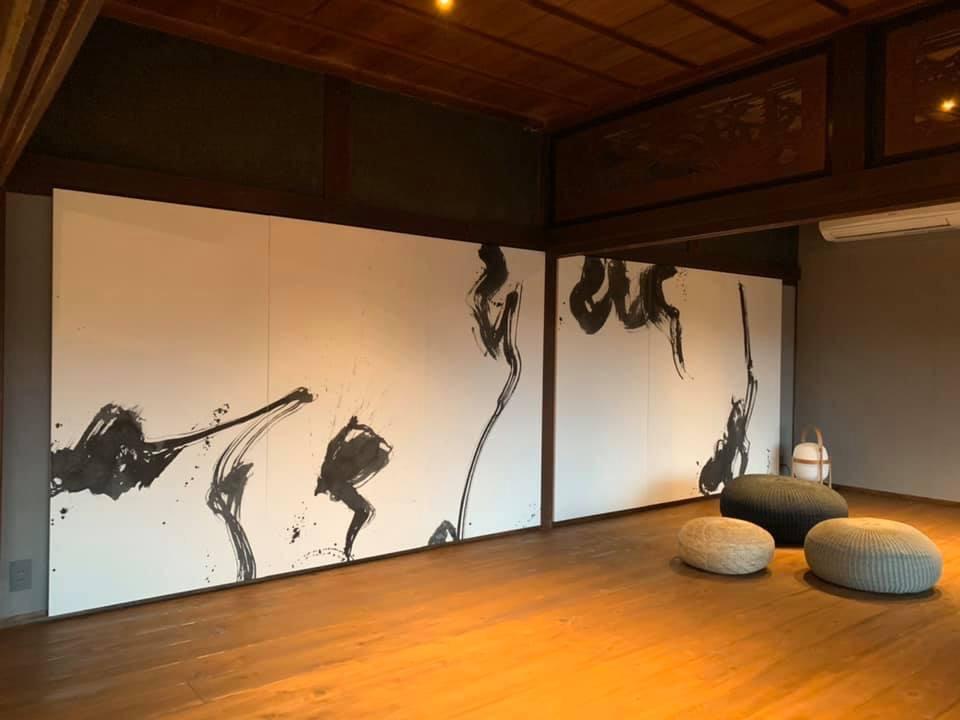 山添村ume壁画