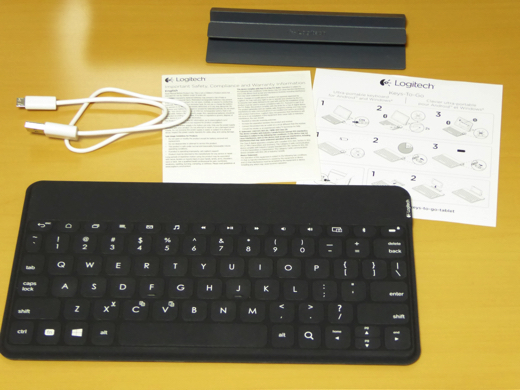 Logitech Keys-To-Go 中身