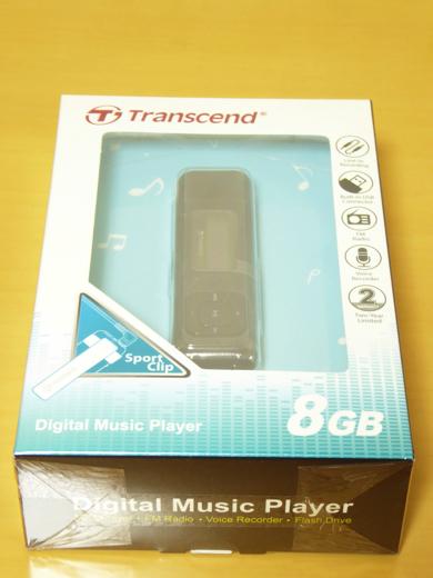 Transcend MP330 パッケージ