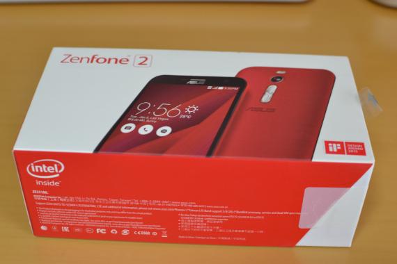 ZenFone 2 外箱
