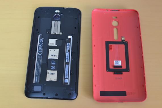 ZenFone 2 カバー内側