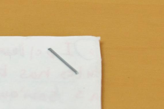 サクリフラット HD-10FL2 綴じ目(表)