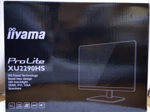 iiyama ProLite XU2290HS 外箱