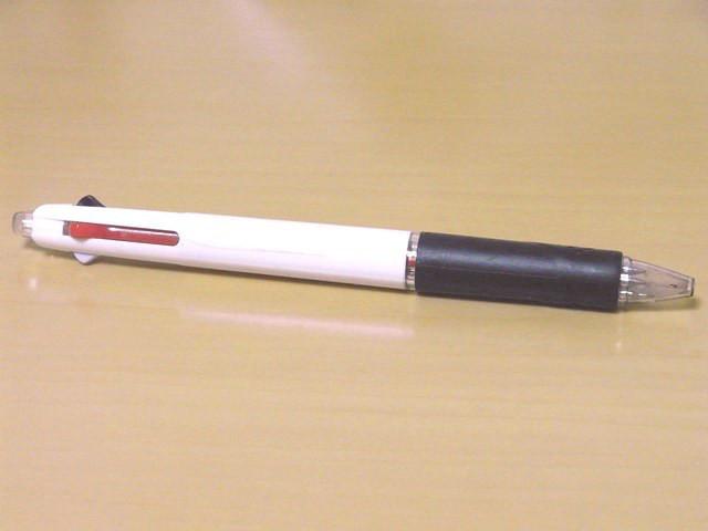 三菱 ジェットストリーム 多機能ペン 2&1 0.5mm 白