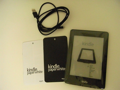 Amazon Kindle Paper White 中身その3